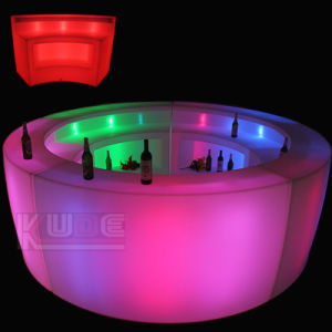 Bar Counter with Lights Design for Homes Night Club pictures & photos