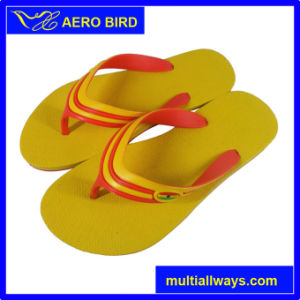 Outdoor Bright Color Trendy Men Beach Flip Flop pictures & photos