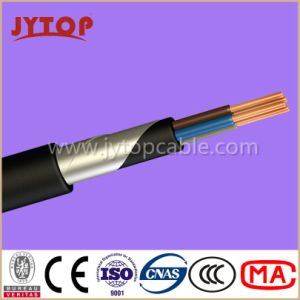 Yvz4V/Nyby Cable, 0.6/1 Kv PVC Insulated Double Steel Tape Armoured, Multi-Core Cables with Copper Conductor pictures & photos
