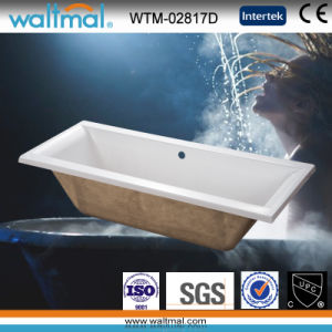 High Quality Simple Drop-in Bathtub (WTM-02817D) pictures & photos