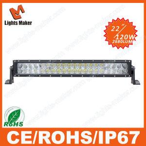 "4D Double Row LED 22"" Length CREE LED Driving Light, 120W Light LED, off Road Vehicle LED Lightings"