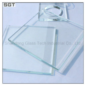 12mm Low Iron/Ultra Clear Tempered Super White Glass with Holes & Cutouts pictures & photos