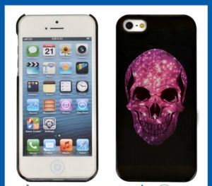 Hard Rubber Skull Case Cover for iPhone 5 pictures & photos
