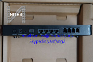 Original Huawei Ma5675 Gpon Wireless ONU, with 4ge + 4 Pots + WiFi