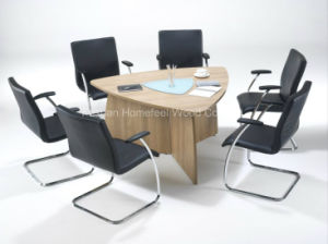 Small Triangular Meeting Table (HF-RE08) pictures & photos
