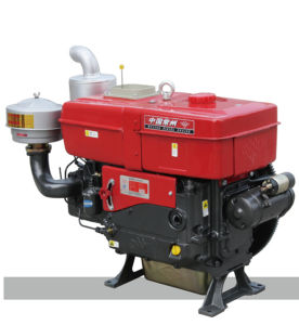 35HP Wl35 Water Cooled Single Cylinder Diesel Engine (ZS1133)