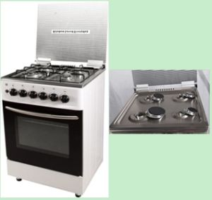 4 Burner Free Standing Gas Cooker with Oven pictures & photos