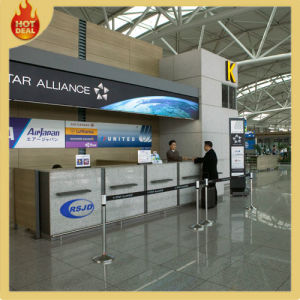 Wholesale Commercial Custom Airport Front Desk Counter pictures & photos