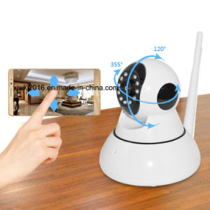 Indoor Use PTZ 720p Night Vision WiFi IP Camera pictures & photos