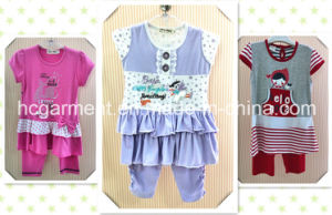 Fancy Girl Clothing Casual Suit Baby Clothes Kids Wear pictures & photos