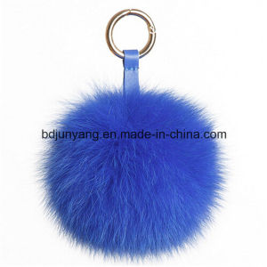 Factory Directly Supply Fox Fur Ball Keyrings pictures & photos