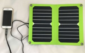 2016 New Item Best Sale 6V 12W 1mm Thickness Solar Mobile Charger Bag in Lowest Cost pictures & photos