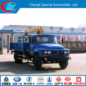 Classic Dongfeng 4X2 5ton Crane Truck with Crane pictures & photos