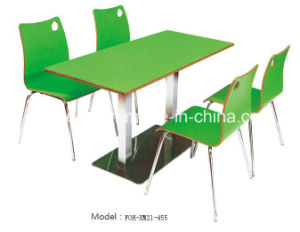 Modern Fast Food Restaurant Furniture Dining Tables and Chairs (FOH-XM03-22) pictures & photos