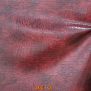 High Abrasion-Resistant Microfiber Regenerated Leather for Modern Living Room Furniture pictures & photos