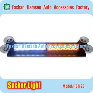 LED Visor Sucker Warning Light for Ambulance Police Fire Trucks
