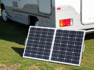 Portable Solar Panel Poly 100W for Camping with Motorhome pictures & photos