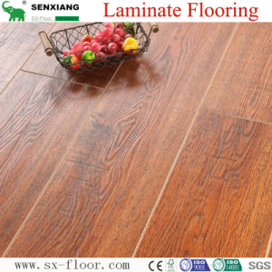 12mm HDF Waterproof Stable Quality V-Groove Wooden Laminated Flooring
