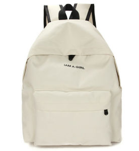 Simple Korean Style Nylon Women Backpack Leisure Student Bag pictures & photos