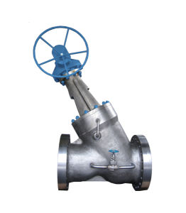 Y-Type Bolted Bonnet Globe Valve pictures & photos