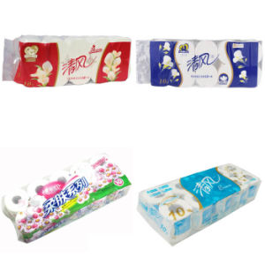 Toilet Paper Bundling 12 Bag Toilet Roll Tissue Package Machine pictures & photos