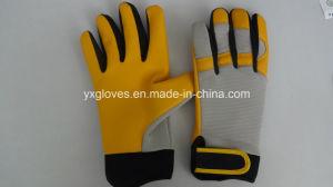 Glove-Safety Gloves-Cheap Glove-Hand Protective-Work Glove-Leather Glove-Cow Leather Glove pictures & photos