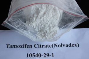 Cancer Treatment Anti Estrogen Steroids CAS 54965-24-1 Tamoxifen Citrate pictures & photos