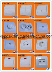 European Style Wall Switch/Socket/Doorbell Switch/Wall Socket/Schuko Socket pictures & photos