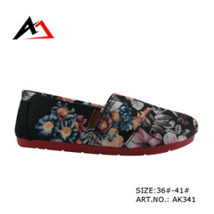Injection Casual Shoes Latest Design for Women (AK341) pictures & photos