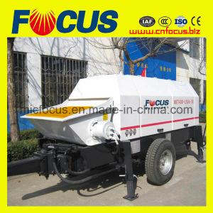 Hydraulic Trailer Concrete Pump, 69m3/H Electromotor Trailer Mounted Concrete Pump pictures & photos