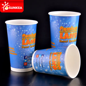 Printed Cold Paper Cups for Soft Drink pictures & photos