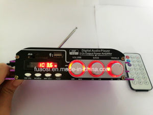 2CH Output Car Amplifier Digital Audio Player pictures & photos
