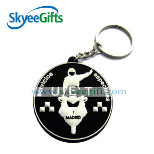 Factory Price Promotional Plastic PVC Keychain Wholesale pictures & photos