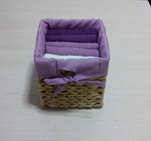 (BC-G1008) Promotional Gift Terry Towel with Storage Basket pictures & photos