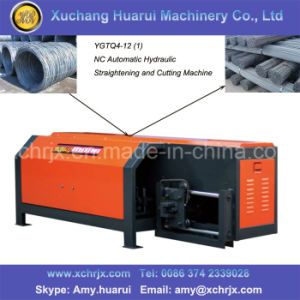Factory Supply Automatic Wire Straightening and Cutting Machine pictures & photos