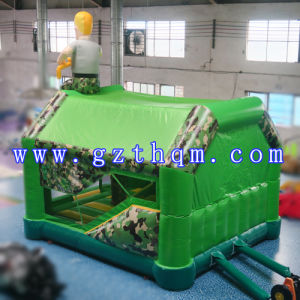 Inflatable Jump Bed for Shooting Game/Inflatable Jumper Castle Inflatable Bouncer pictures & photos