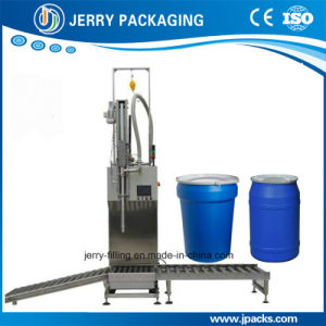 Factory Supply 50-300kg Automatic Paint Big Barrel Drum Weighing Filler pictures & photos