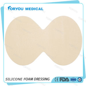 Silicone Foam Dressing for Pressure and Leg Ulcers pictures & photos