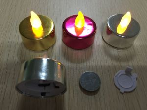 Battery Operated Pillar Candles Lights for Party Decorative Bar Stage pictures & photos