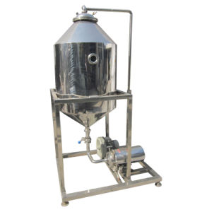 Fully Automatic Food Sanitary Stainless Steel Fresh Milk Vacuum Deaerator Machine pictures & photos