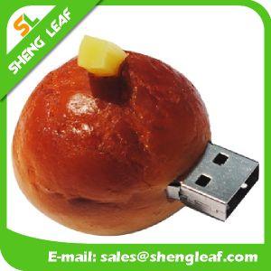 Wholesale Rubber Bracelet USB Flash Drive (SLF-RU014) pictures & photos