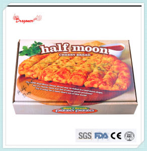 Locking Corners Pizza Box for Stability and Durability (GD10261) pictures & photos