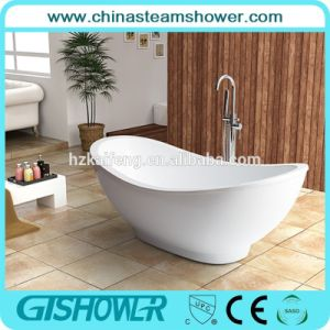 Modern Freestanding Acrylic Soaking Bathtub (BL1015T) pictures & photos