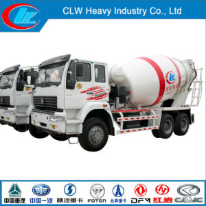 Sinotruk HOWO 10 Wheel Heavy Duty Concrete Cement Mixer Truck pictures & photos