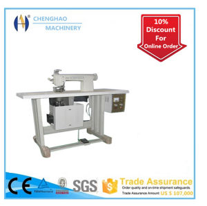 Ultrasonic Lace Machine for Table Cloth Lace Production with Ce Certification pictures & photos