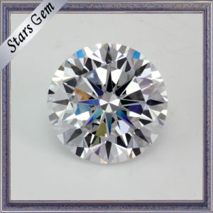 Classical Round White 8 Heart&8 Arrow Synthetic Diamond pictures & photos