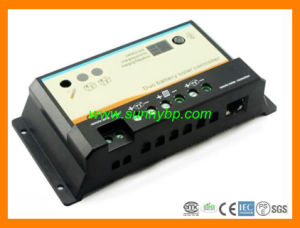 12V/24V 10A 20A Dual Battery Solar Charge Controller pictures & photos