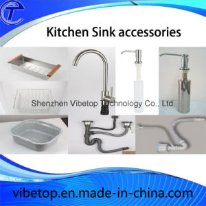 Stainless Steel Single/Double Bowl Kitchen Sink (KS-04) pictures & photos
