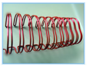 Spiral Twin Ring Loop Wire for Book Binding pictures & photos