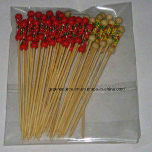 Bamboo Cocktail Stick / Bamboo Skewer pictures & photos